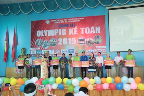 Chung kết cuộc thi Olympic Kế toán 2015 trường CĐ Công Thương TP.HCM - 1