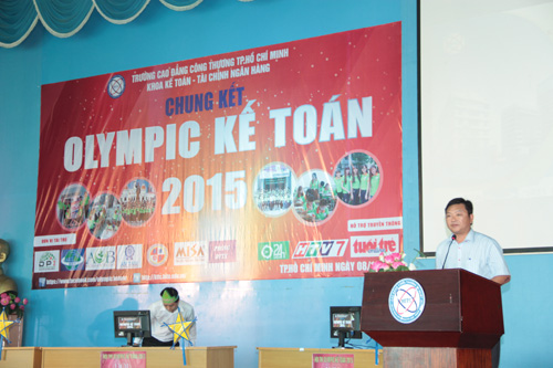 Chung kết cuộc thi Olympic Kế toán 2015 trường CĐ Công Thương TP.HCM - 2