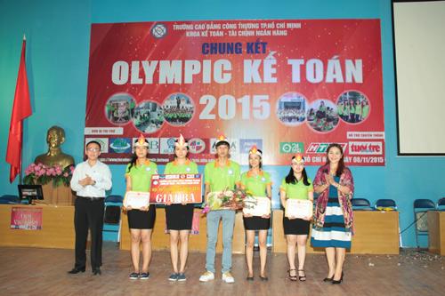 Chung kết cuộc thi Olympic Kế toán 2015 trường CĐ Công Thương TP.HCM - 4
