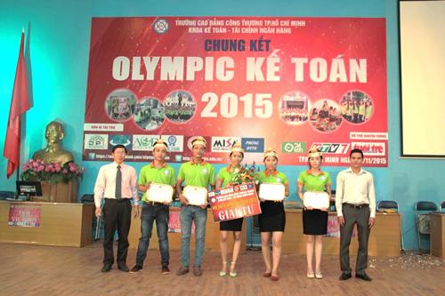 Chung kết cuộc thi Olympic Kế toán 2015 trường CĐ Công Thương TP.HCM - 5