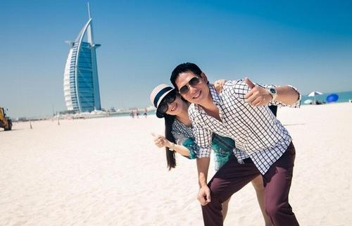 """Sao Việt khoe ảnh """"ăn chơi sang chảnh"""" tại xứ sở Dubai - 8"""