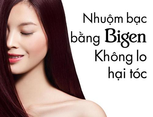 Tóc đẹp tuổi trung niên với màu nhuộm Bigen Speedy từ Nhật Bản - 3