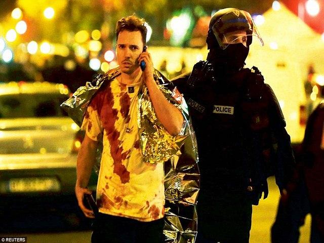 """Khủng bố ở Pháp: """"Chúng bắn chết cả người ngồi xe lăn"""" - 1"""