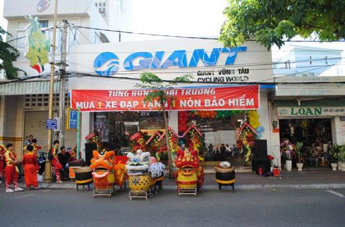 Tưng bừng khai trương Showroom thứ 2 của GIANT Việt Nam tại Vũng Tàu - 1