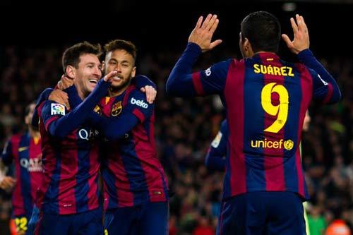 "El Clasico: Tam tấu Barca ""ăn đứt"" cây đinh ba Real - 1"