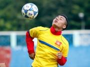 """Bóng đá - """"Truyền nhân"""" Văn Quyến ép cân, chờ toả sáng giải U21"""