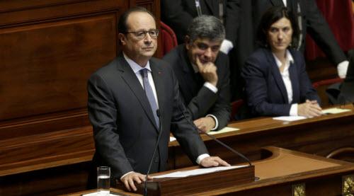 Tổng thống Pháp tuyên bố chiến tranh với IS - 1