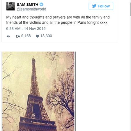 Sao thế giới chia sẻ lời cầu nguyện hòa bình cho Paris - 5