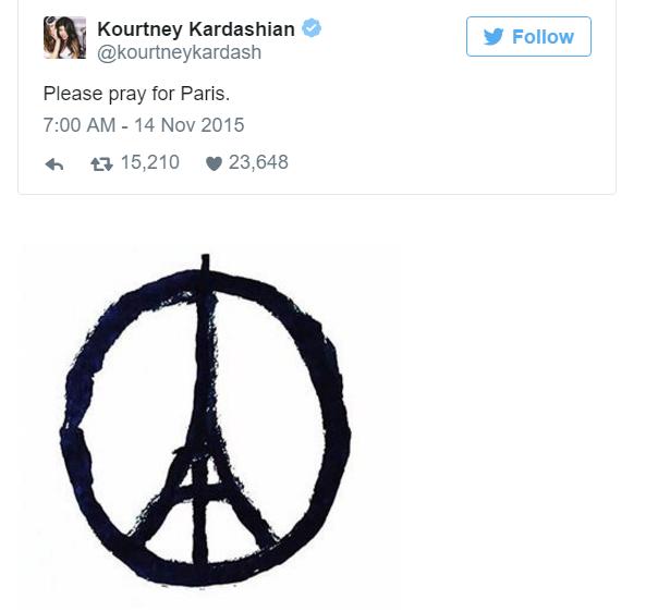 Sao thế giới chia sẻ lời cầu nguyện hòa bình cho Paris - 6