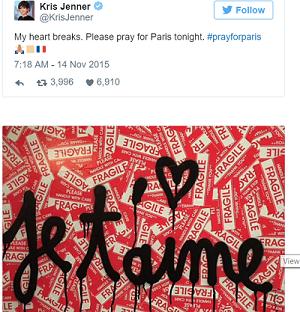 Sao thế giới chia sẻ lời cầu nguyện hòa bình cho Paris - 8