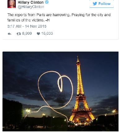 Sao thế giới chia sẻ lời cầu nguyện hòa bình cho Paris - 9