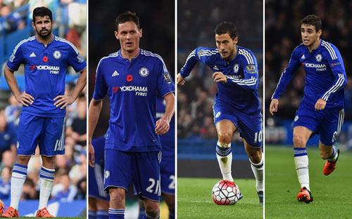 """""""Siêu cải tổ"""", Chelsea muốn bán 4 ngôi sao - 1"""
