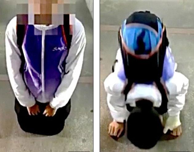 Clip học sinh quỳ xin lỗi khiến cô giáo bị chỉ trích - 2