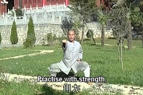 Bát Đoạn Cẩm Thiếu Lâm: Bài khí công lợi hại - 1