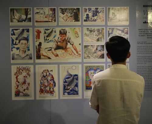 Triển lãm tranh về những nét đẹp trong đời sống người Việt - 1