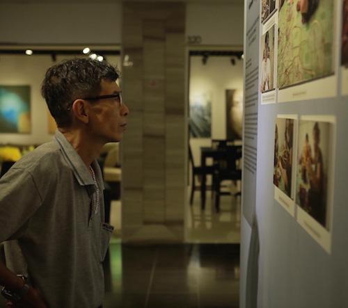 Triển lãm tranh về những nét đẹp trong đời sống người Việt - 5