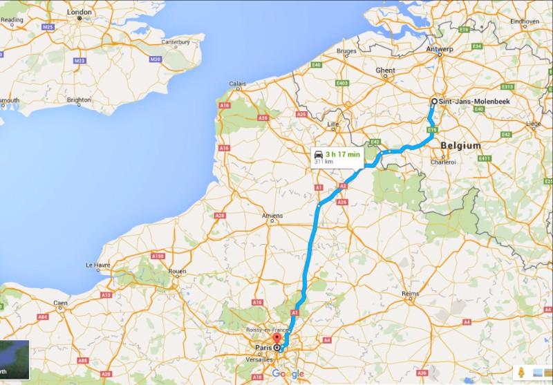 """""""Thủ đô thánh chiến"""" nằm bên nước Pháp - 2"""