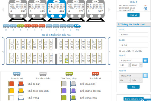 Làm rõ lùm xùm quanh việc mua vé tàu Tết trực tuyến - 2