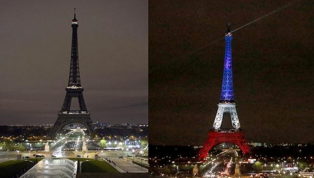 Tháp Eiffel mở cửa trở lại, rực sáng màu quốc kỳ Pháp - 1
