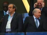 Các giải bóng đá khác - Tin HOT tối 17/11: Platini & Blatter có thể bị phạt đến 7 năm