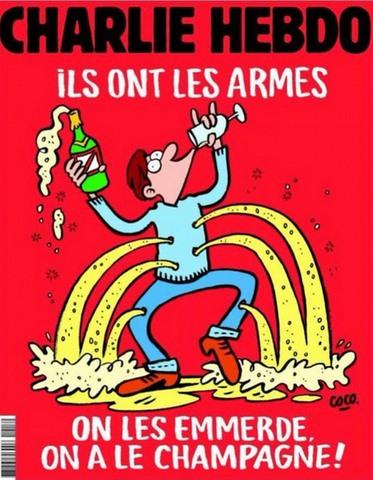 Charlie Hebdo vẽ tranh biếm đầu tiên sau vụ khủng bố Pháp - 1