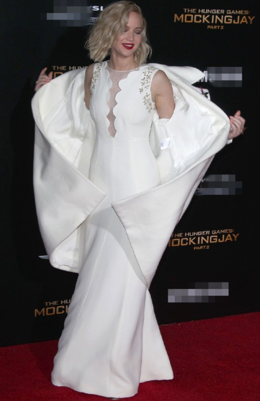"""Đả nữ """"Hunger Games"""" phóng khoáng trên thảm đỏ lễ ra mắt - 3"""