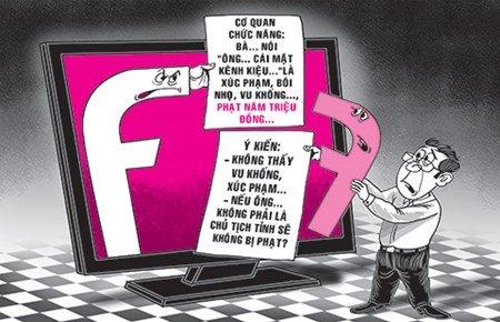 """Nói xấu chủ tịch tỉnh trên Facebook: """"Like"""" cũng bị... phạt - 1"""
