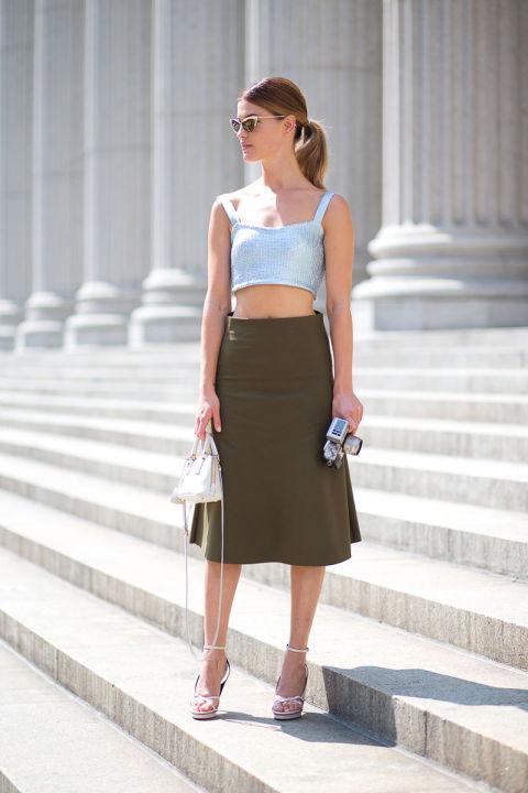 10 cách kết hợp chân váy phái đẹp nên thuộc nằm lòng - 10