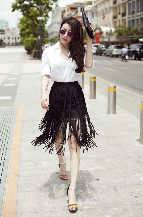 10 cách kết hợp chân váy phái đẹp nên thuộc nằm lòng - 4