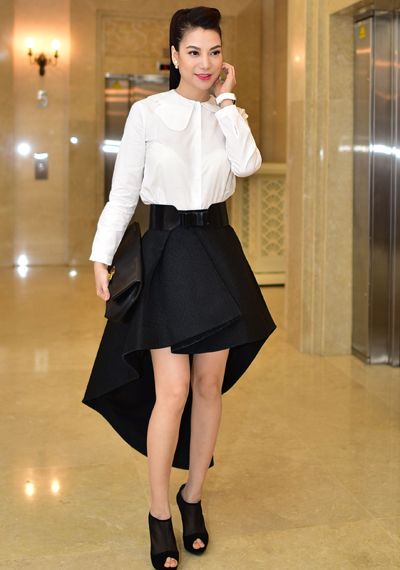10 cách kết hợp chân váy phái đẹp nên thuộc nằm lòng - 17