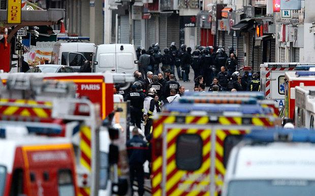 Cảnh sát đấu súng một mất một còn với khủng bố Paris - 2