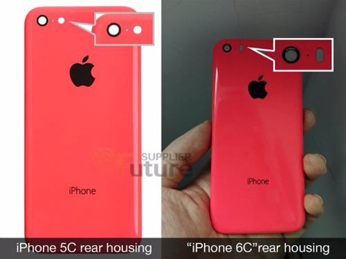 iPhone 6c màn hình 4 inch vỏ nhựa lộ diện - 1