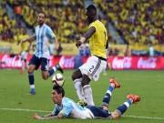 Bóng đá - Colombia - Argentina: Thót tim phút cuối trận