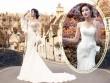 Á hậu Huyền My gợi cảm với váy cưới ở trời Tây