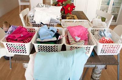 Giặt giũ khi nhà đông người - 2