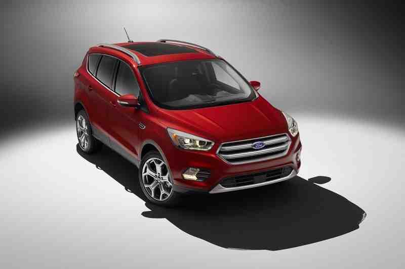 Ford Escape bản nâng cấp an toàn hơn - 1