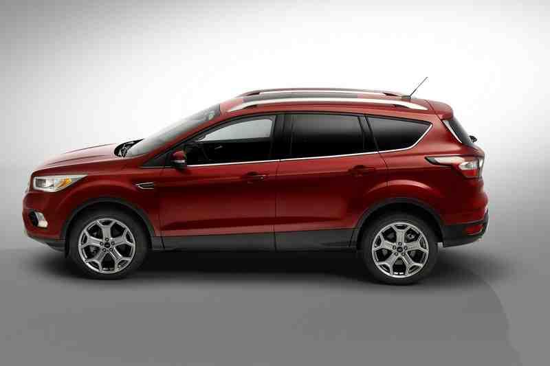 Ford Escape bản nâng cấp an toàn hơn - 2