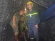 Tin tức trong ngày - Sập lò than: Hối hả cứu người mắc kẹt ở độ sâu 700m