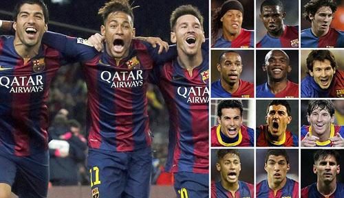 Tam tấu đỉnh nhất lịch sử Barca: Chỉ có thể là M-S-N - 1