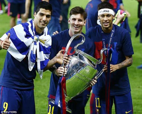 Tam tấu đỉnh nhất lịch sử Barca: Chỉ có thể là M-S-N - 4