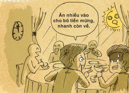 """Đám cưới người Việt: Bao giờ mới thôi """"trả nợ miệng"""" - 1"""