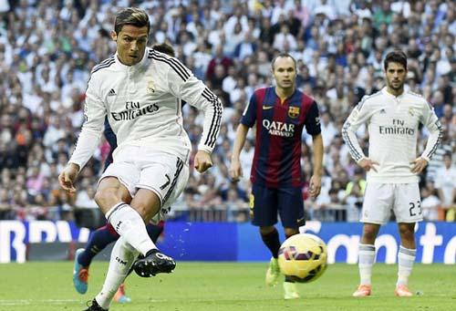 Đá El Clasico ở Bernabeu, Ronaldo chỉ biết sút 11m - 1