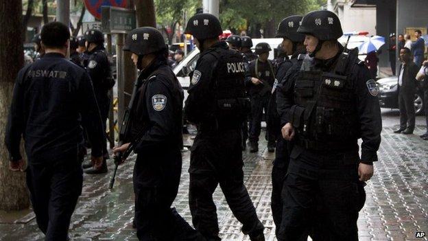 Cảnh sát Trung Quốc tiêu diệt 28 tên khủng bố - 1