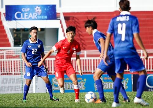 Sân Thống Nhất dậy sóng vì Công Phượng & U21 HAGL - 1