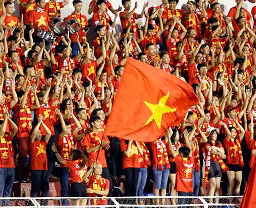 Sân Thống Nhất dậy sóng vì Công Phượng & U21 HAGL - 9