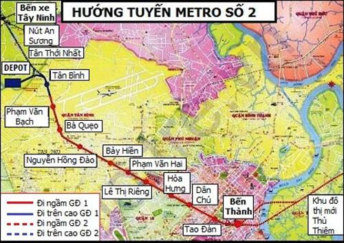 Chỉ 3 tuyến metro đã đội vốn 60.000 tỉ đồng - 2