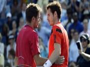 """Thể thao - ATP Finals ngày 6: """"Sinh tử chiến"""" Murray - Wawrinka"""