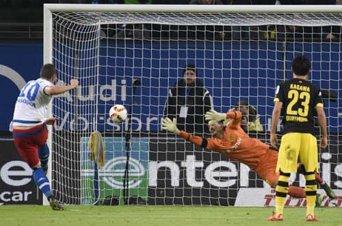 Video Hamburg vs Dortmund - 1