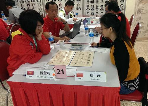 Giải Vô địch cờ tướng cá nhân châu Á 2015: Nguyễn Hoàng Yến giành ngôi á quân giải nữ - 1