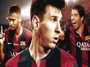 """Bóng đá - Barca đứng bét bảng La Liga nếu không có """"M-S-N"""""""